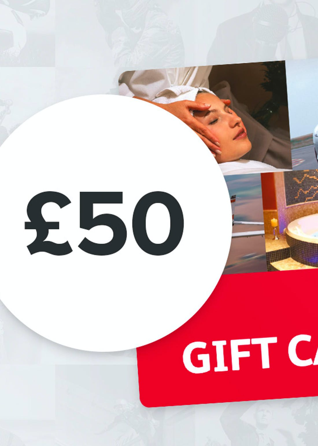 Virgin Experience Days £50 Gift Card