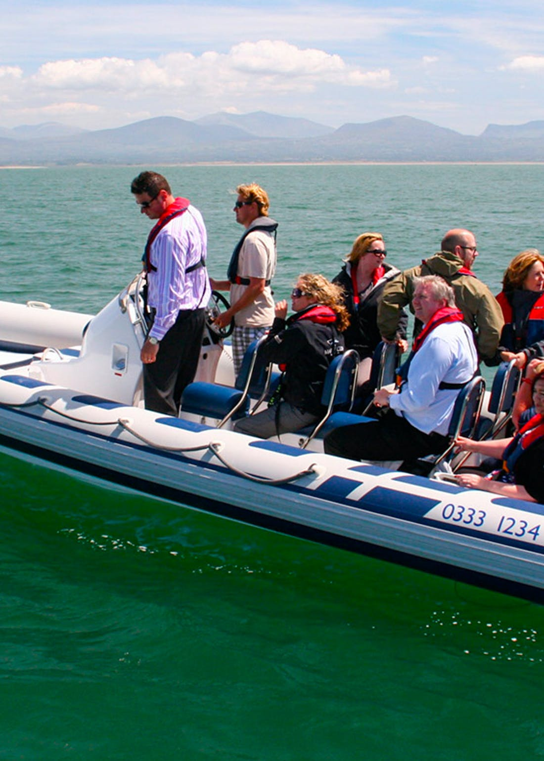 Virgin Experience Days North Wales Rigid Inflatable Boat Ride for 2