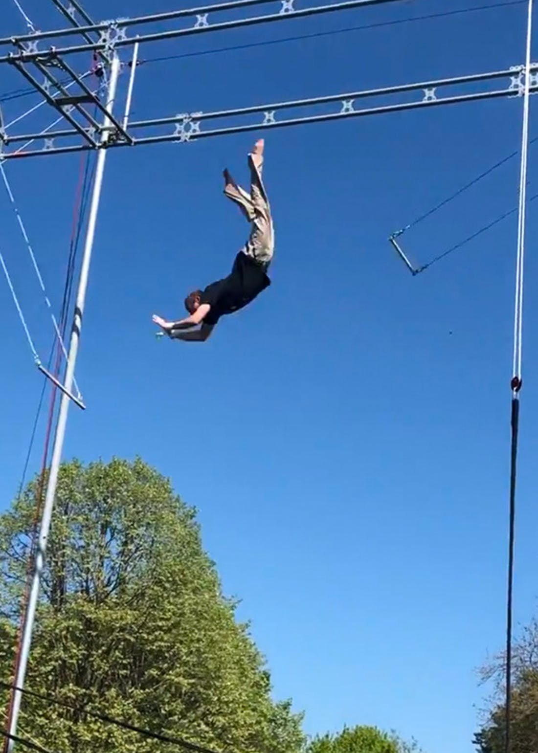 Virgin Experience Days Flying Trapeze Class