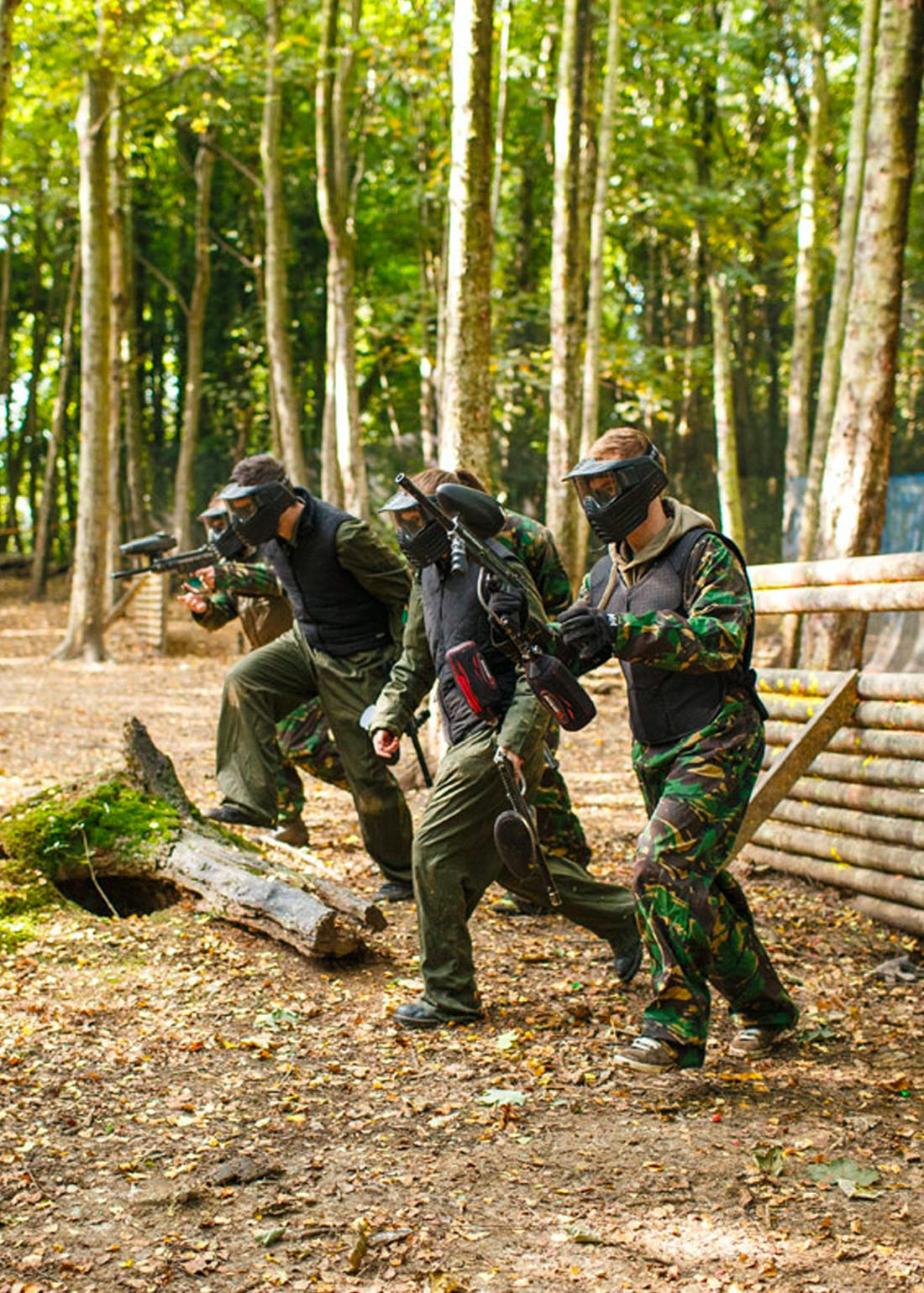 Virgin Experience Days Full Day Paintballing Experience for 2