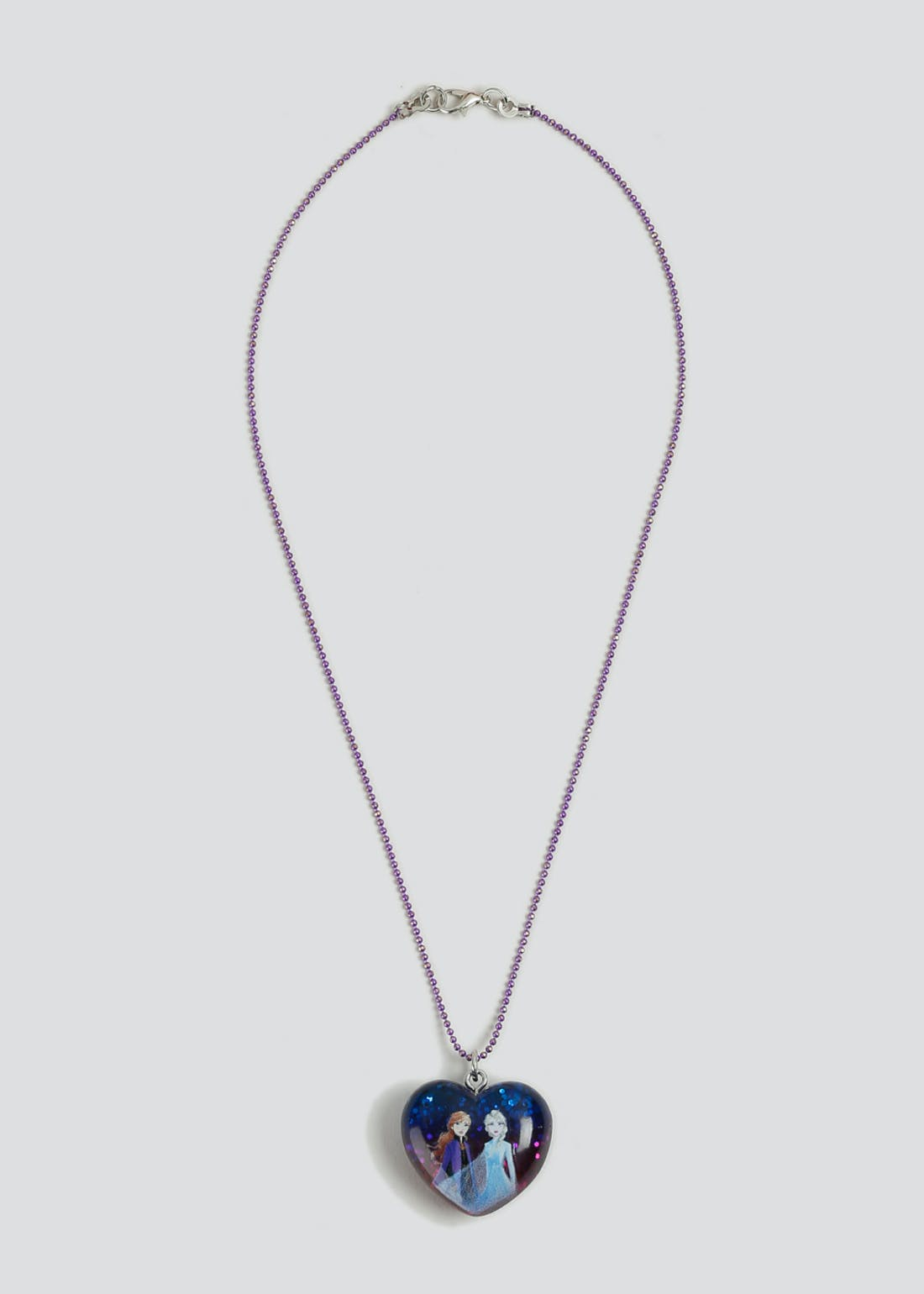 Girls Disney Frozen II Sparkle Heart Necklace
