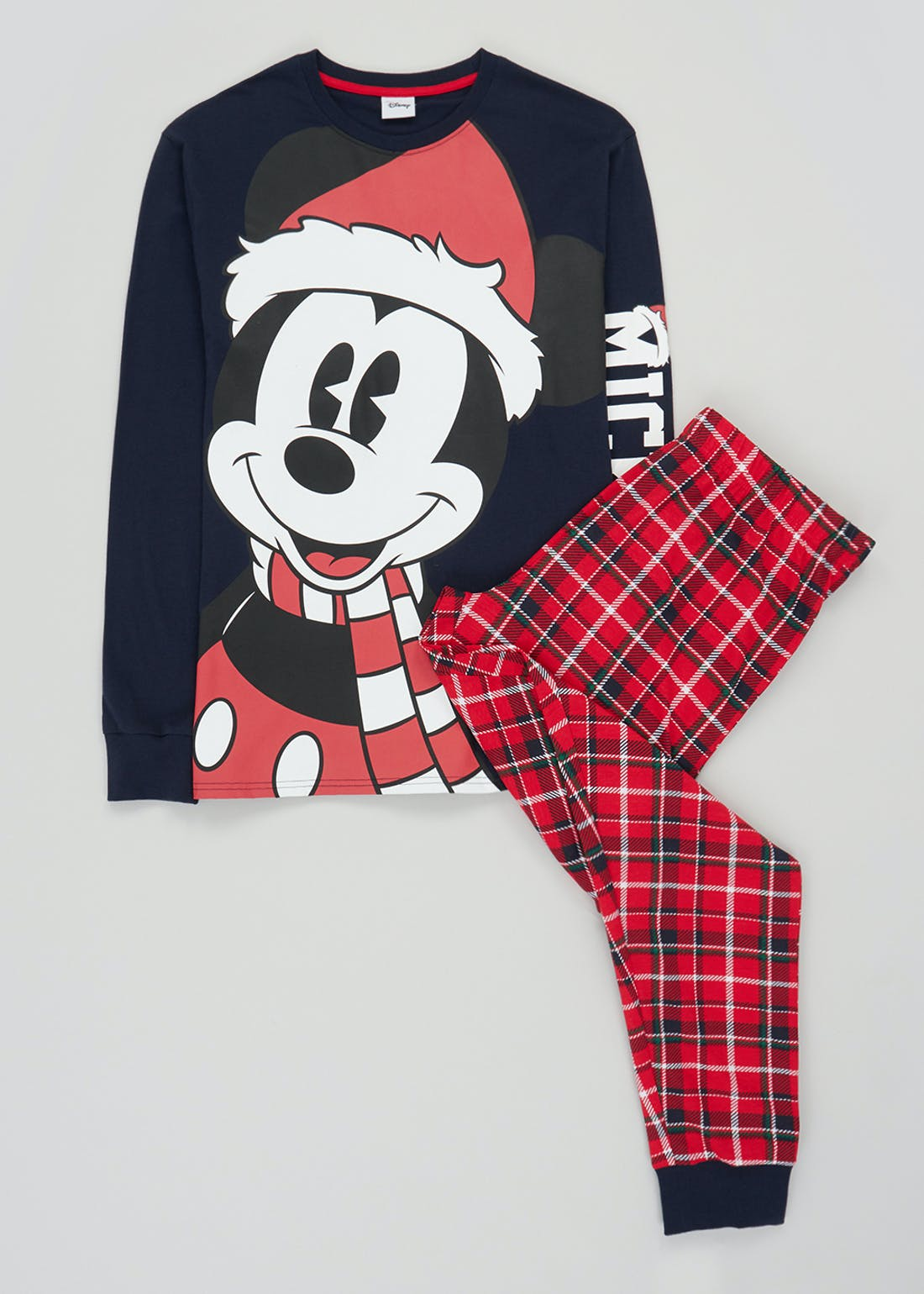 Disney Mickey Mouse Christmas Pyjama Set