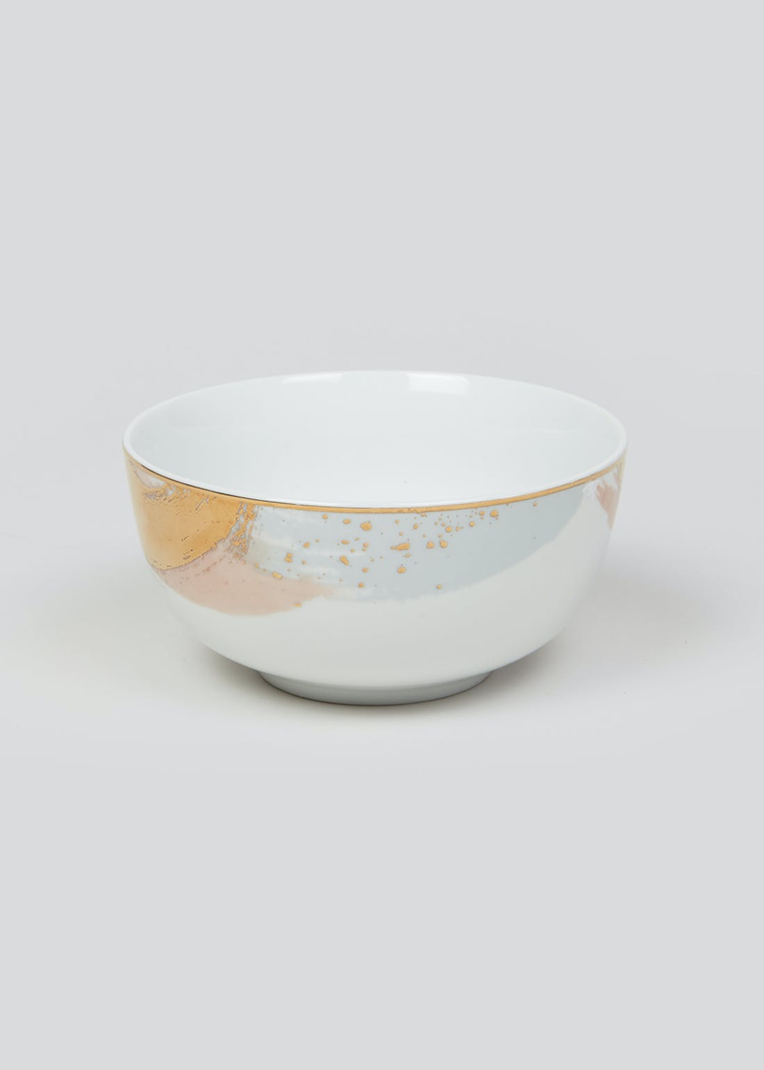 Metallic Brushstroke Bowl (14cm x 7cm)