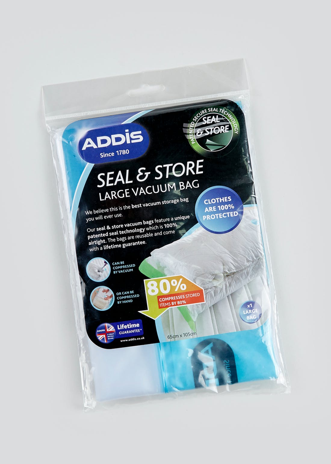 Addis Seal & Store Vacuum Bag (105cm x 65cm)