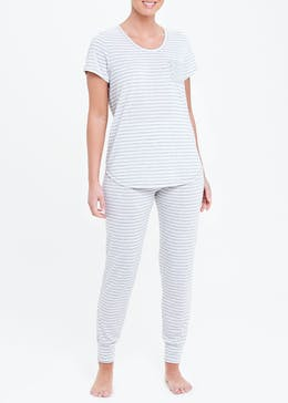 Stripe Cuffed Pyjamas