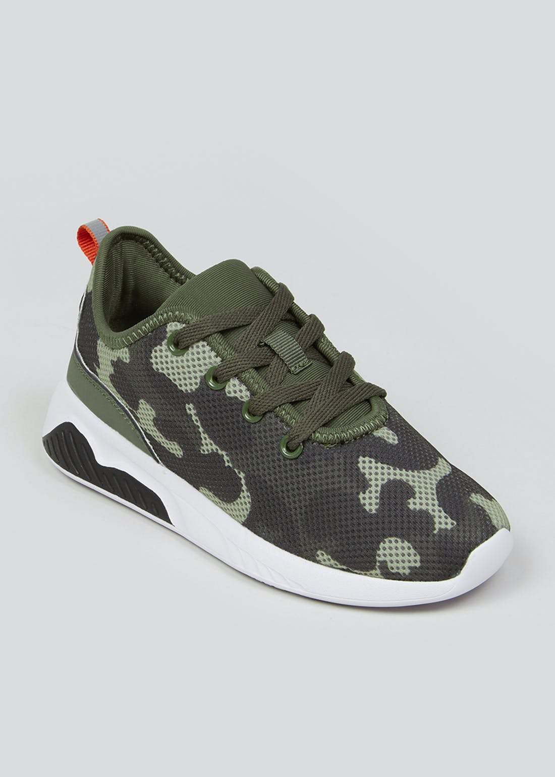 Kids Lightweight Camo Trainers (Younger 10-Older 6)