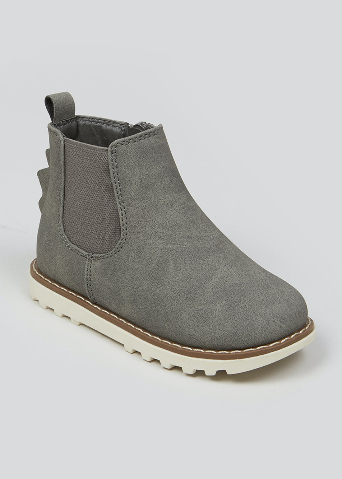 Boys Grey Chelsea Boots (Younger 4-12)