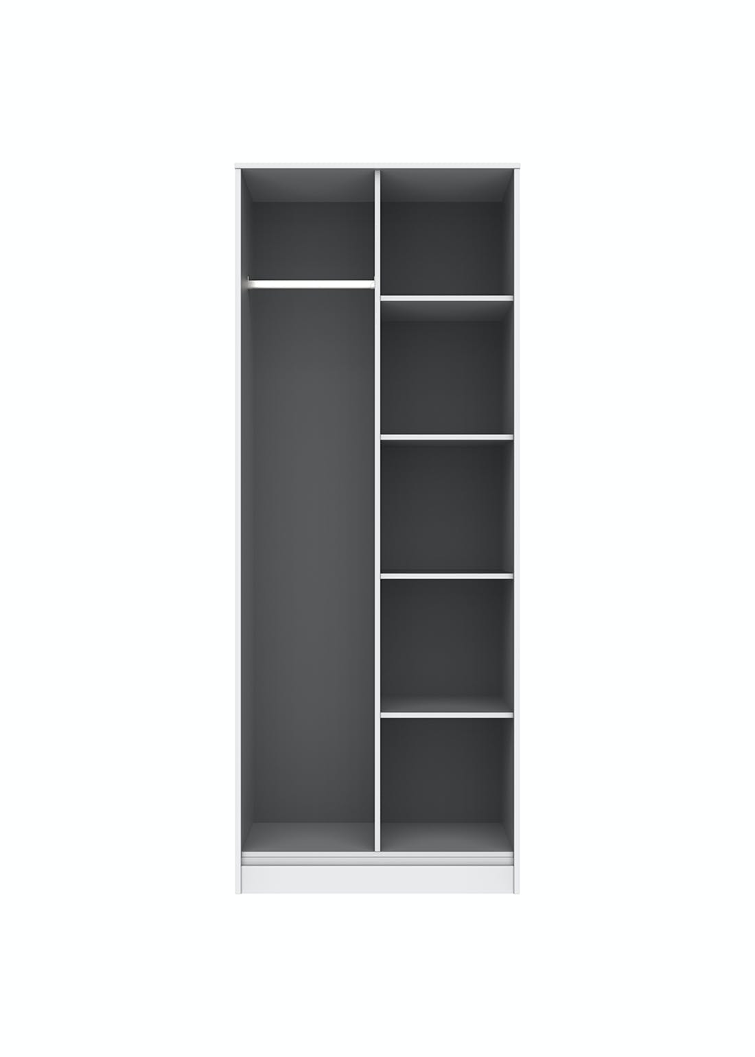 Swift Prism Open Shelf Wardrobe (201.5cm x 76.5cm x 53cm)