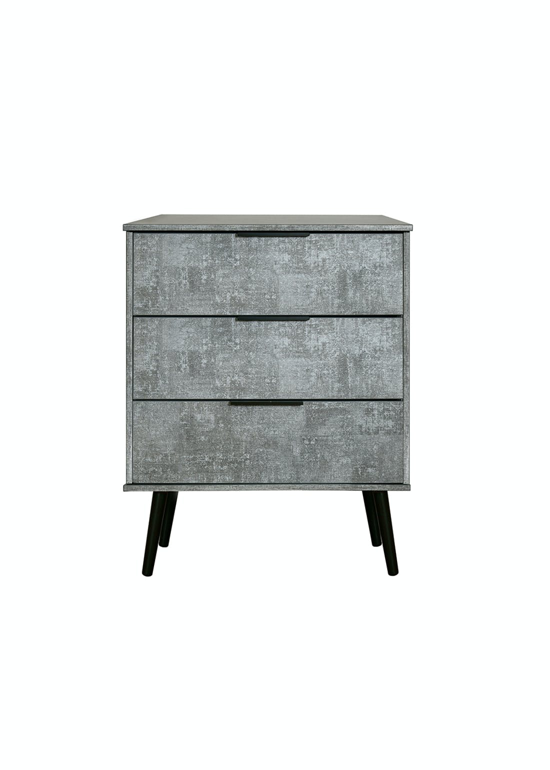 Swift Milano 3 Drawer Midi Chest (74cm x 57.5cm x 39.5cm)