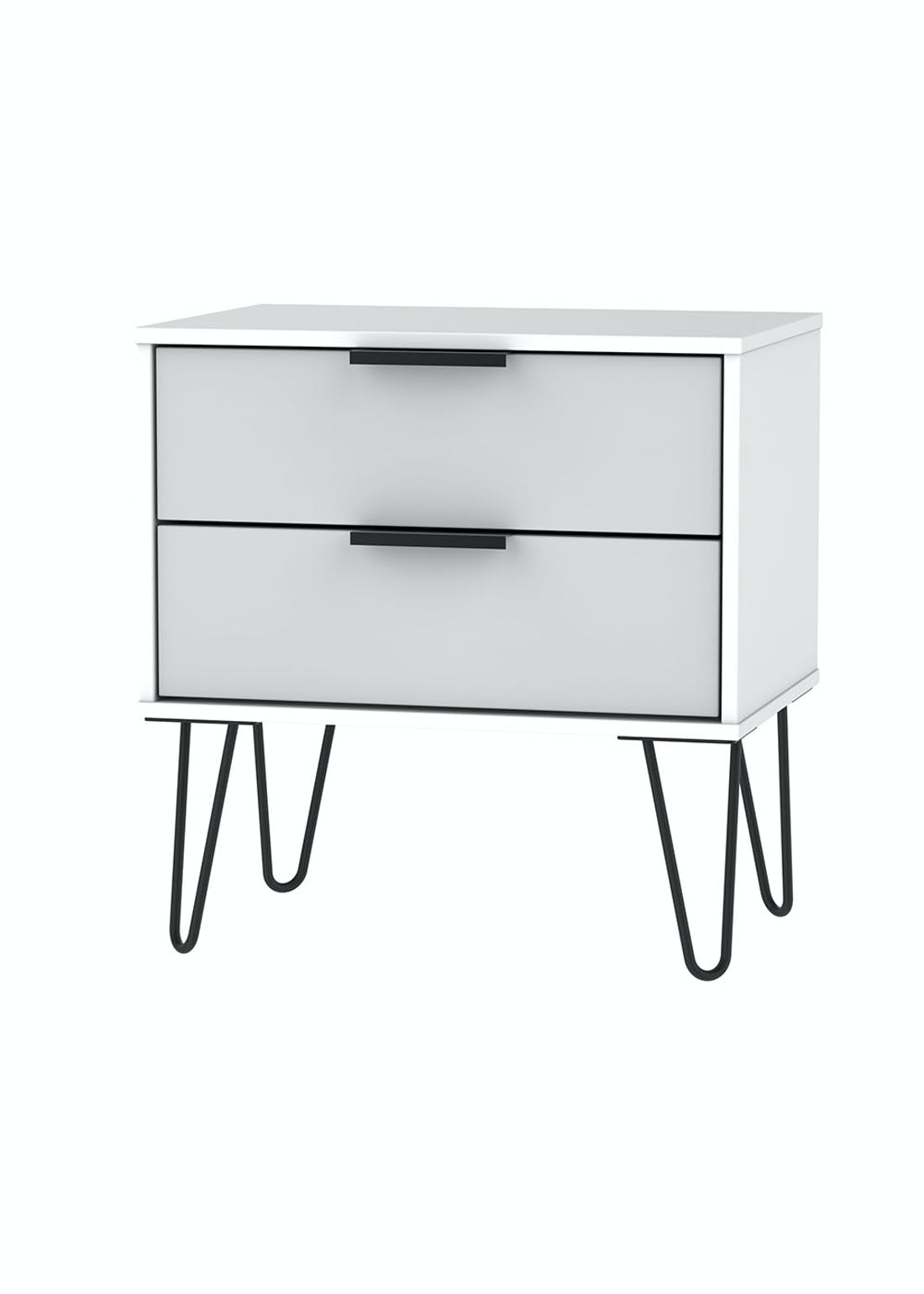 Swift Milano 2 Drawer Midi Chest (57cm x 57.5cm x 39.5cm)
