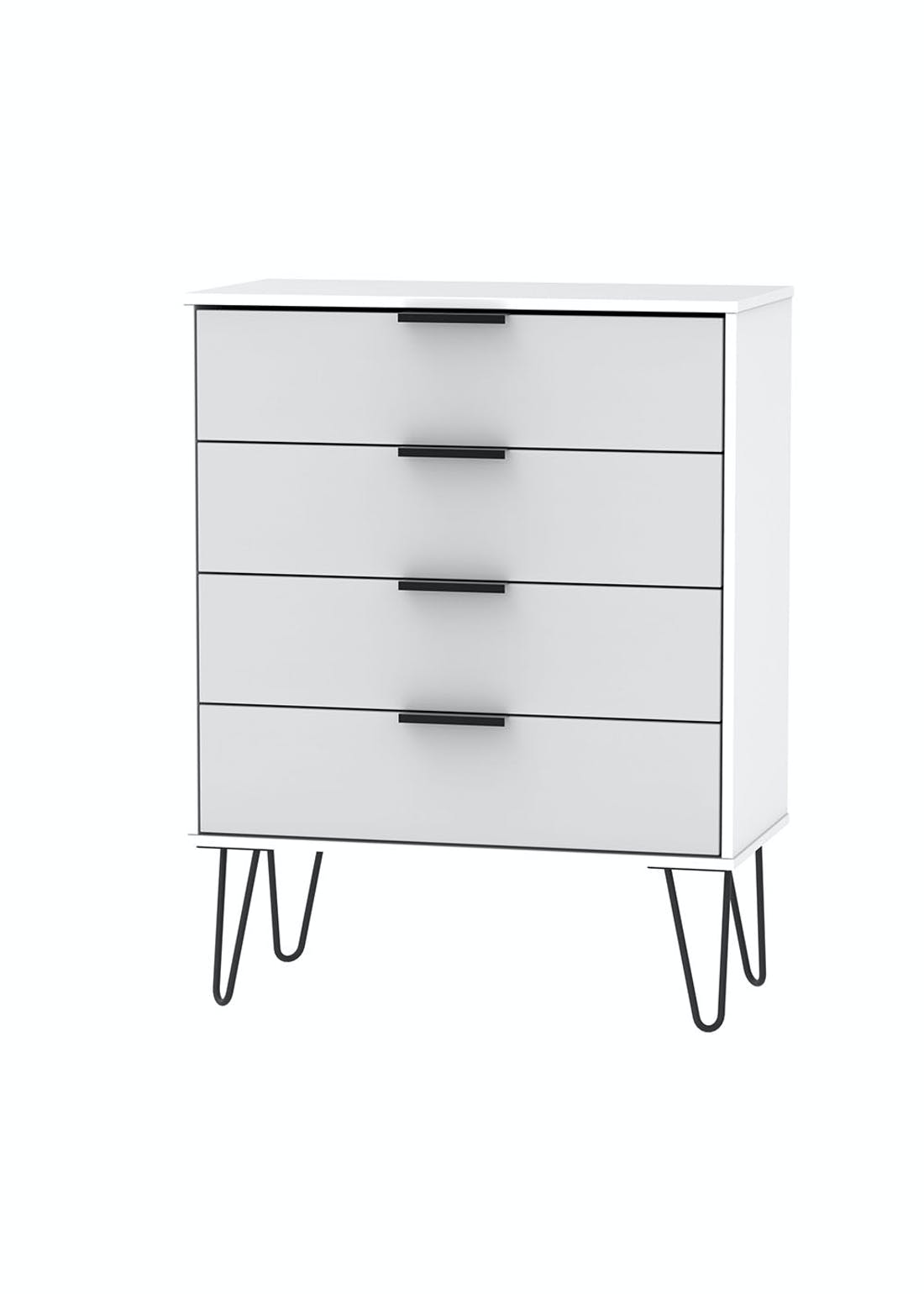Swift Milano 4 Drawer Chest (91cm x 76.5cm x 39.5cm)