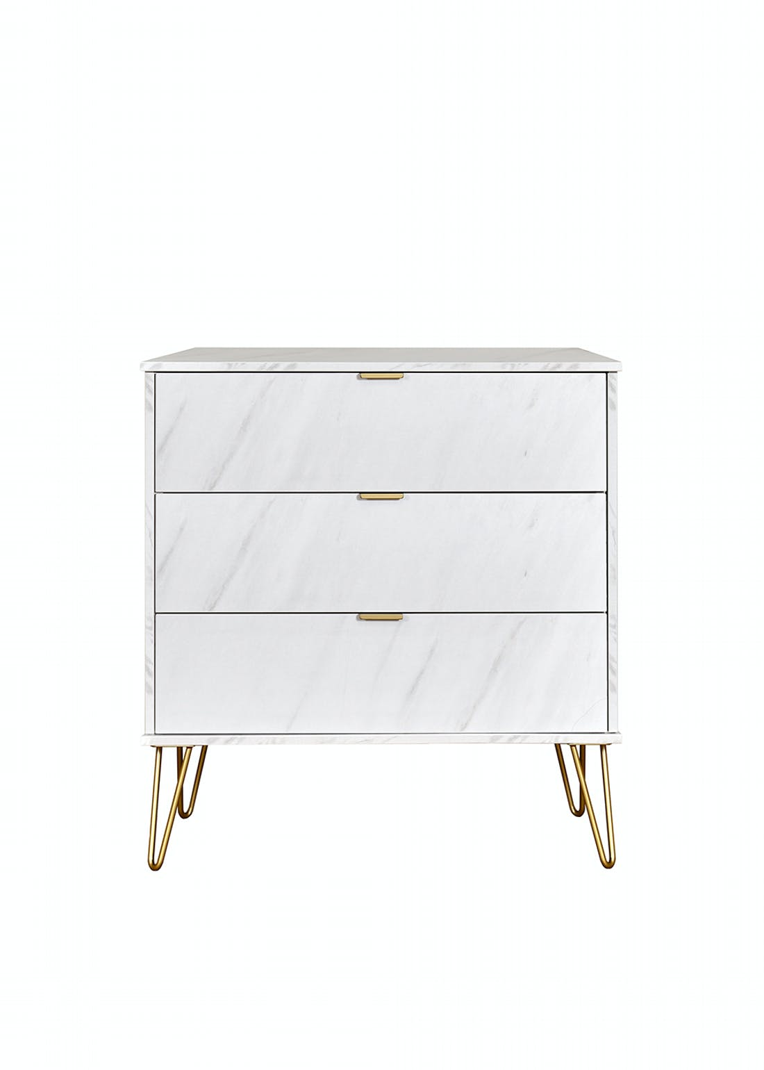 Swift Milano 3 Drawer Chest (74cm x 76.5cm x 39.5cm)