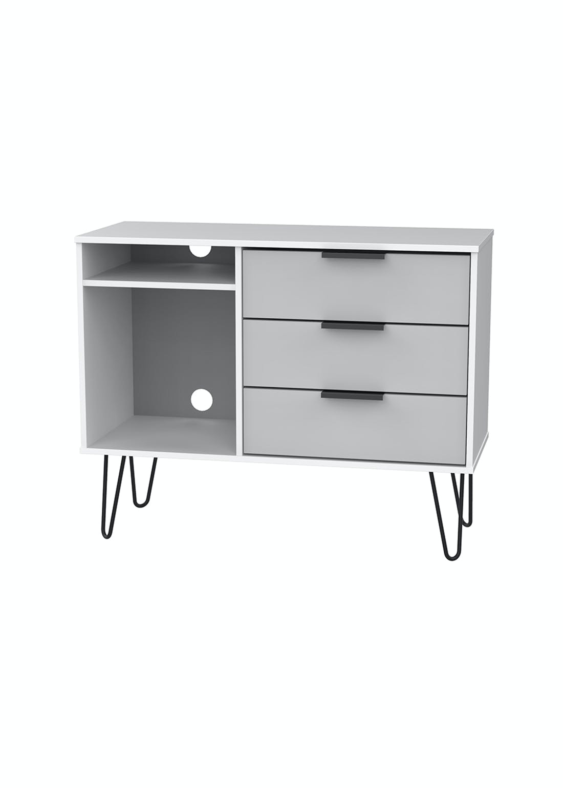 Swift Milano 3 Drawer TV Unit (74cm x 57.5cm x 39.5cm)