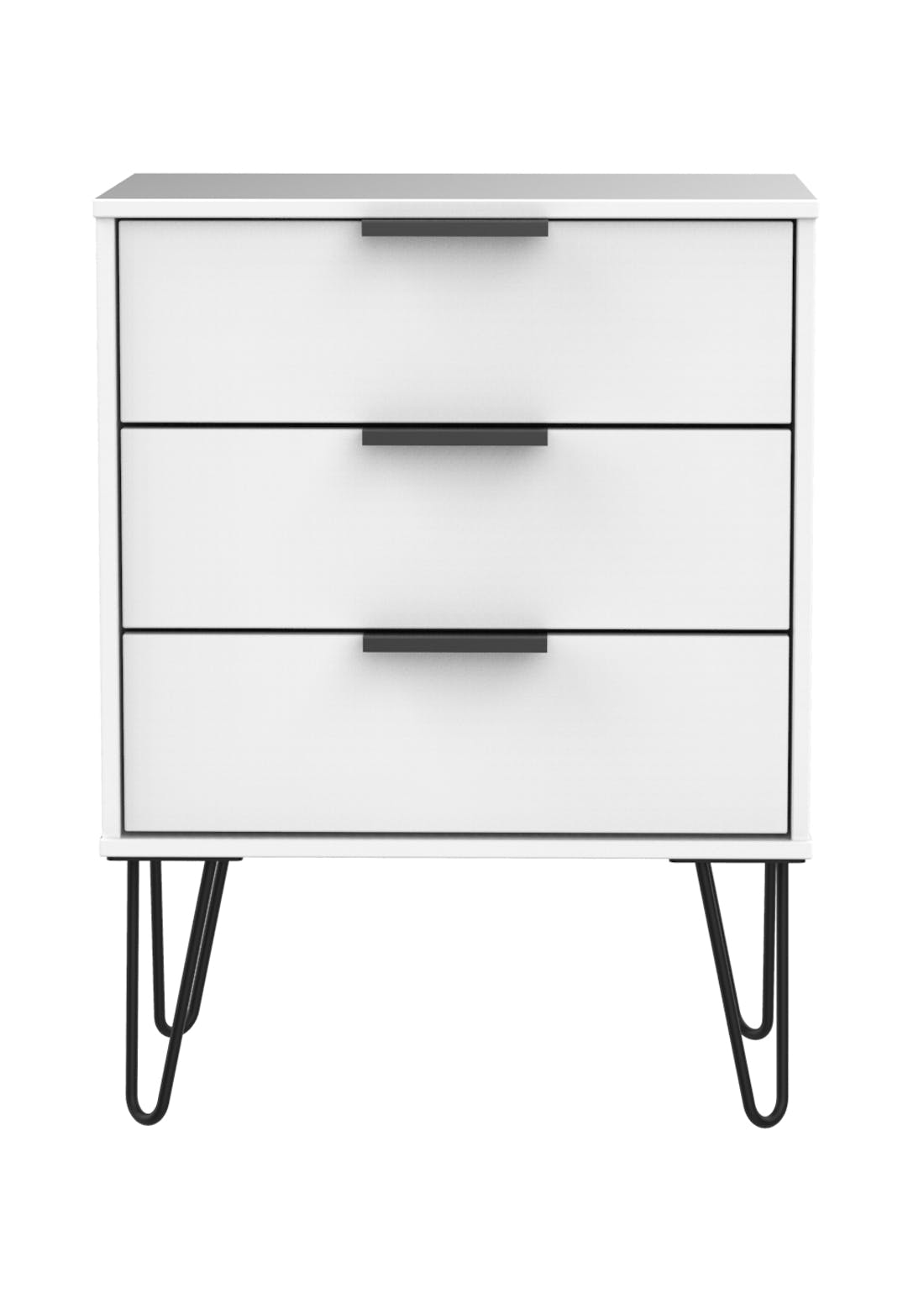 Swift Milano 3 Drawer Chest (74cm x 57.5cm x 39.5cm)