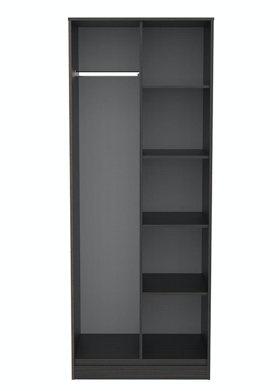 Swift Cordoba Open Shelf Wardrobe (201.5cm x 76.5cm x 53cm)