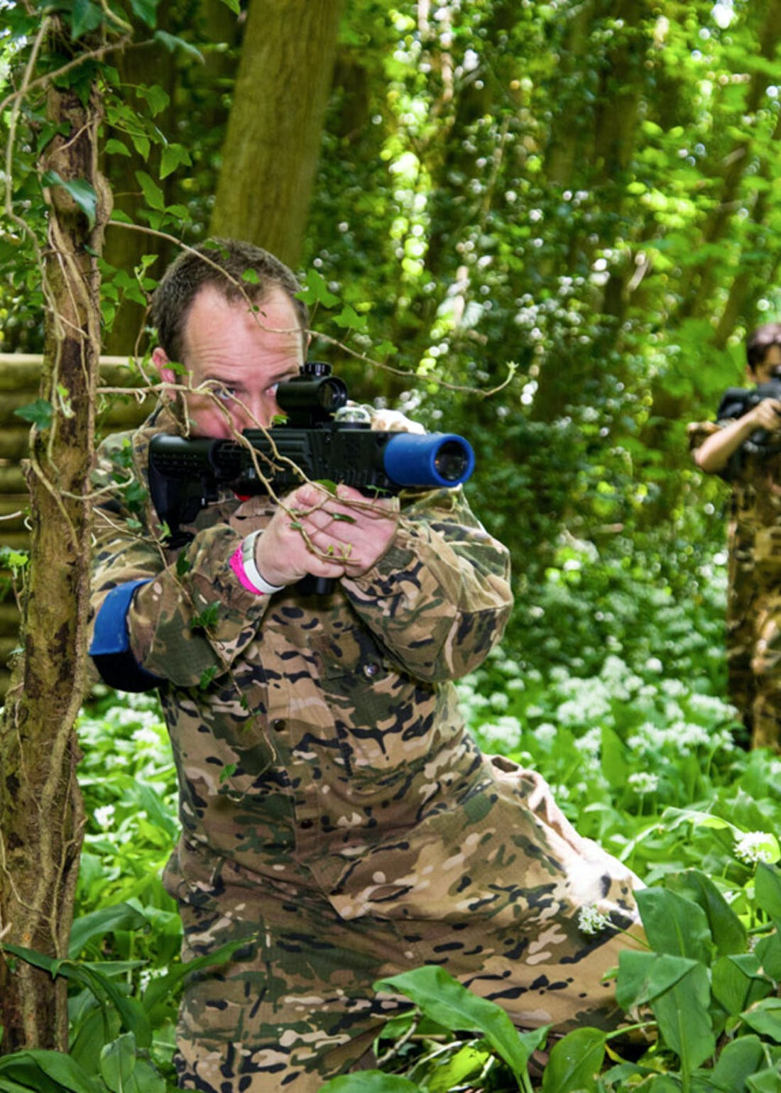 Virgin Experience Days Forest Laser Tag with Pizza for 2