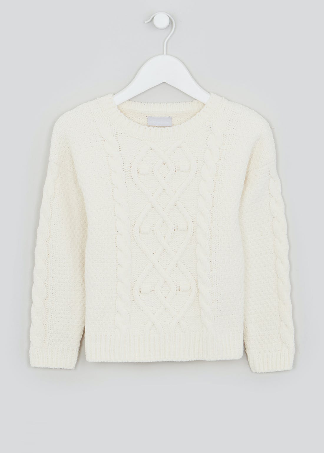 Girls Cable Knit Jumper (4-13yrs)