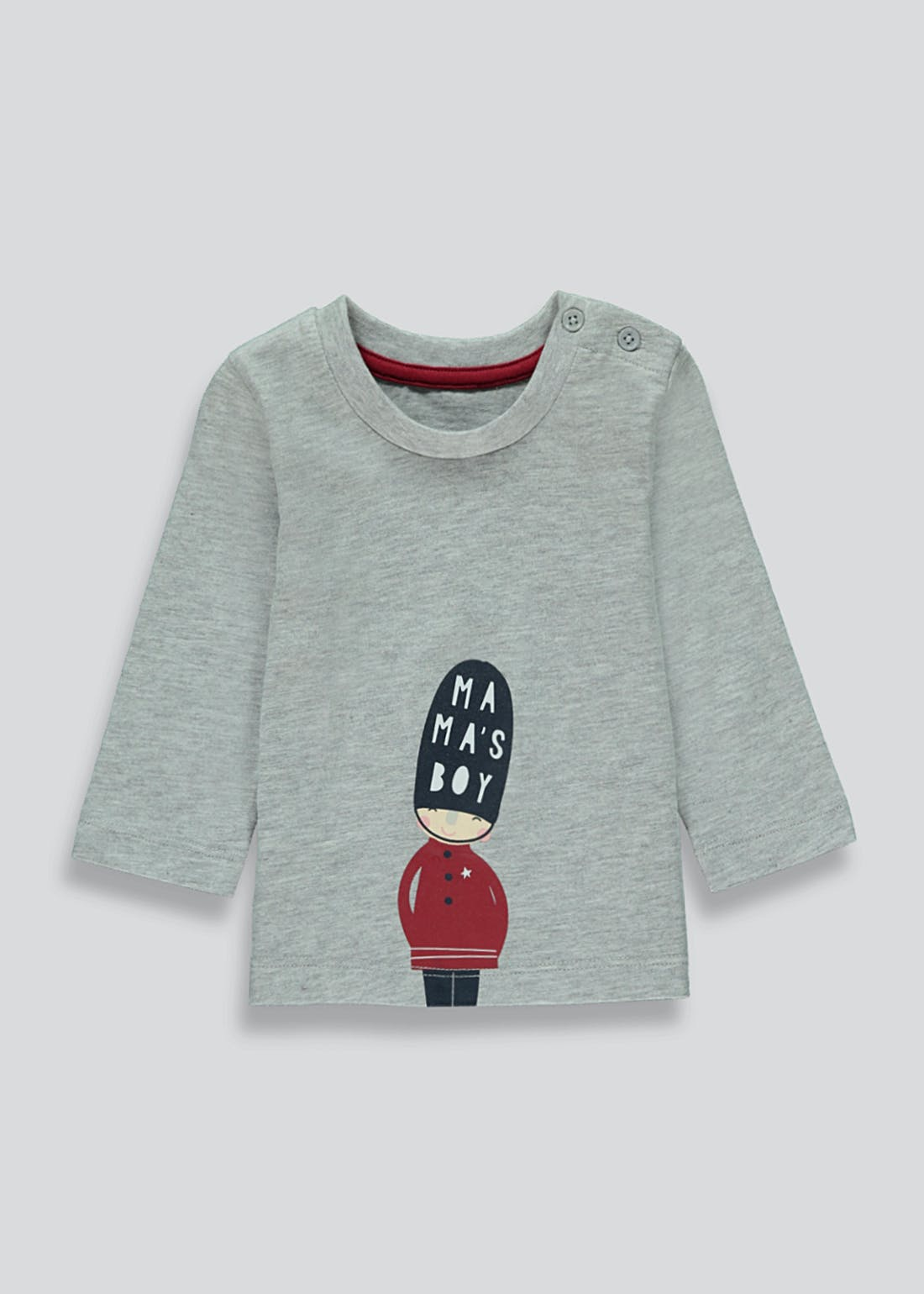 Boys Long Sleeve Christmas Soldier T-Shirt (Newborn-23mths)