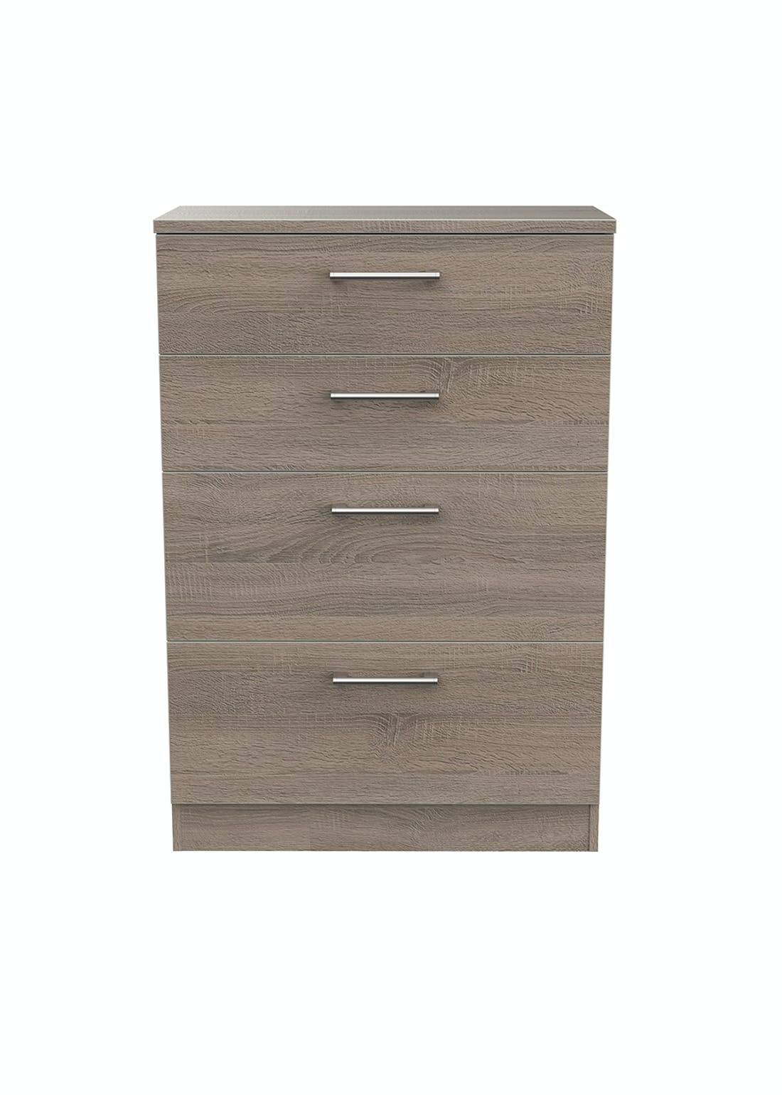 Swift Bari 4 Drawer Deep Chest (107.5cm x 76.5cm x 41.5cm)