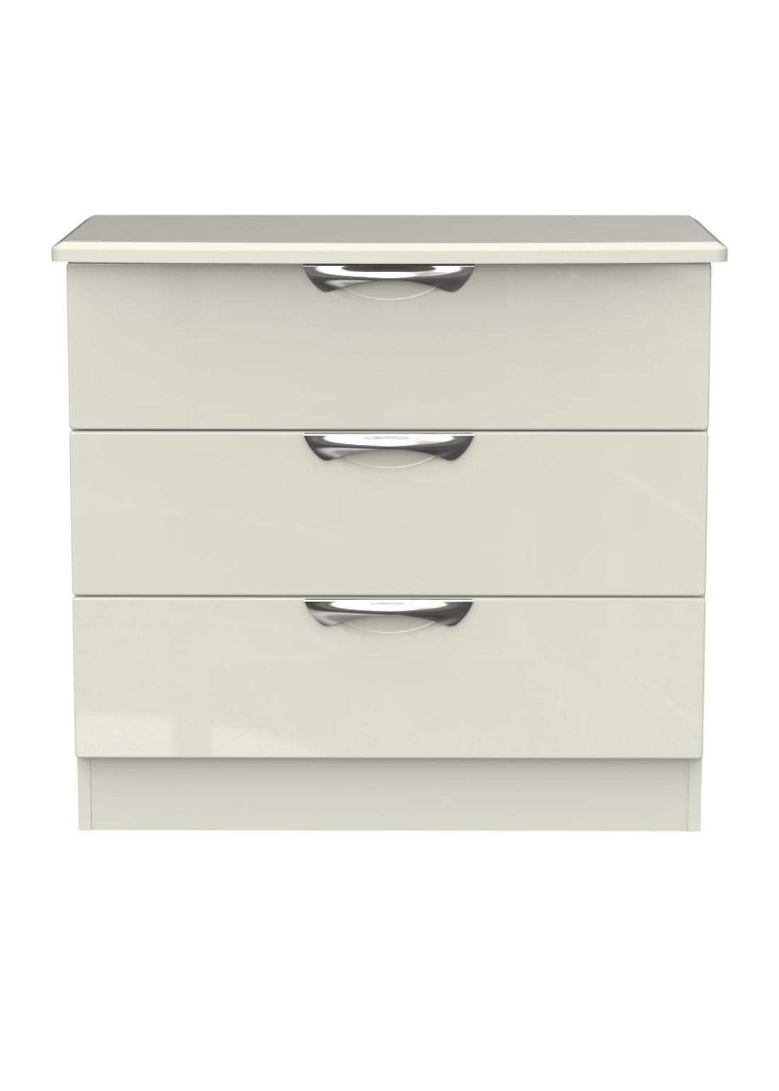 Swift Bordeaux 3 Drawer Chest (69.5cm x 76.5cm x 41.5cm)