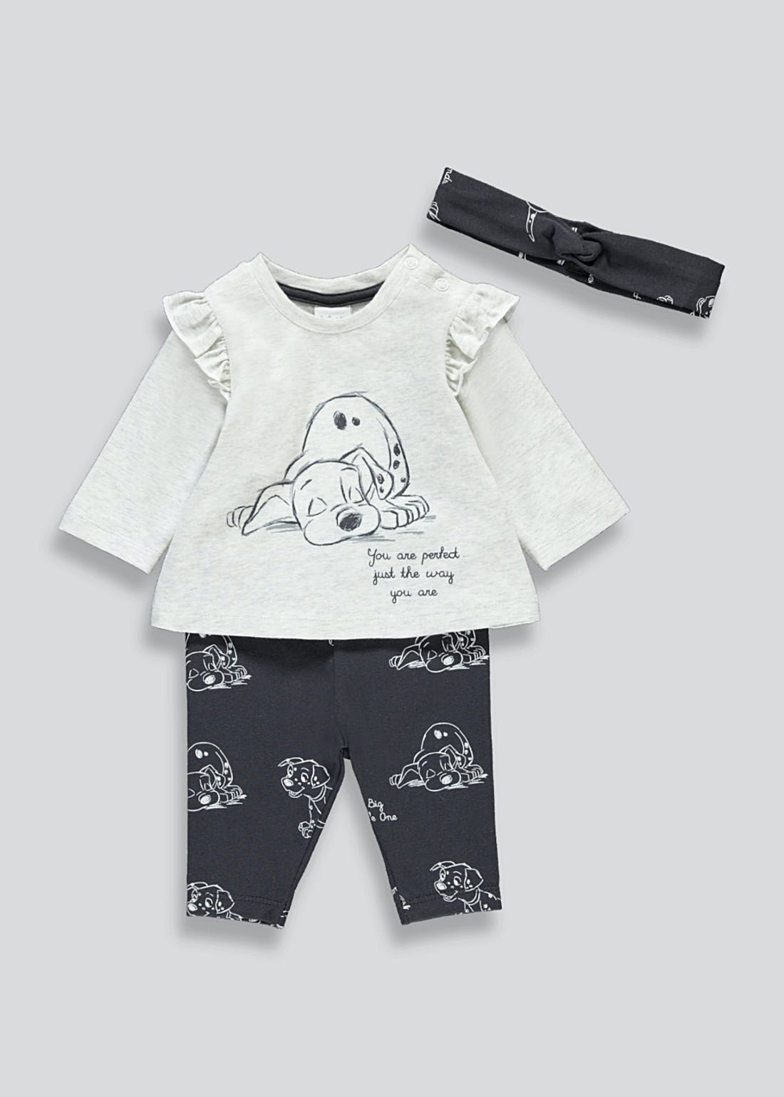 Girls 101 Dalmatians Outfit Set (Newborn-12mths)