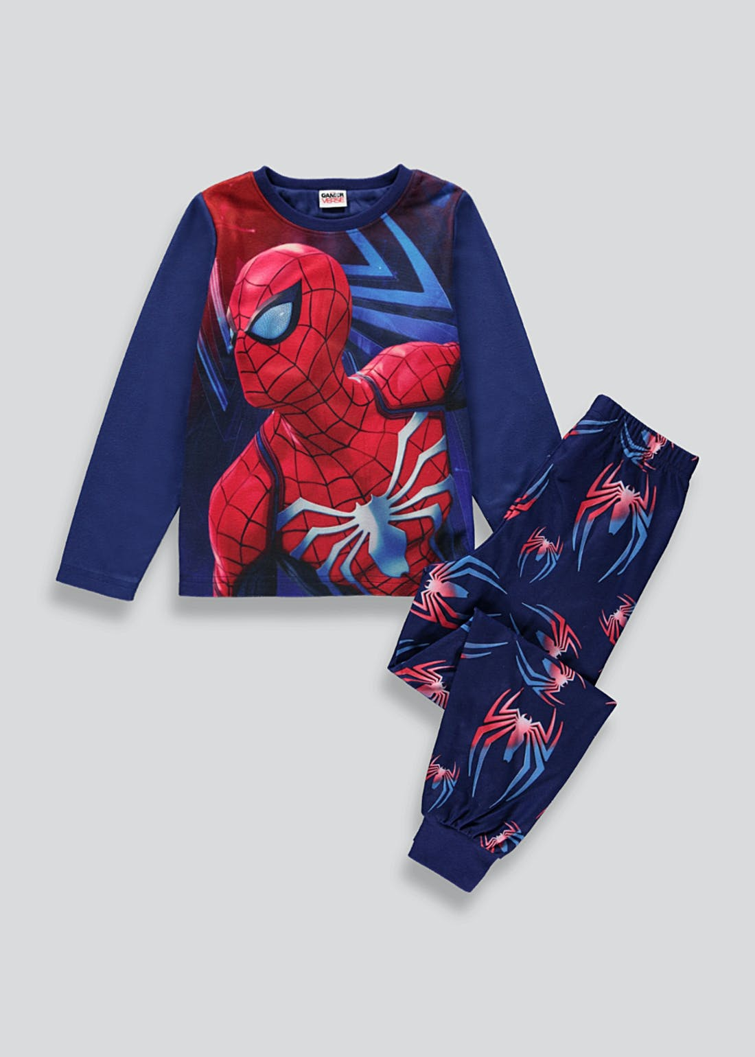 Kids Marvel Spider-Man Fleece Pyjama Set (2-9yrs)