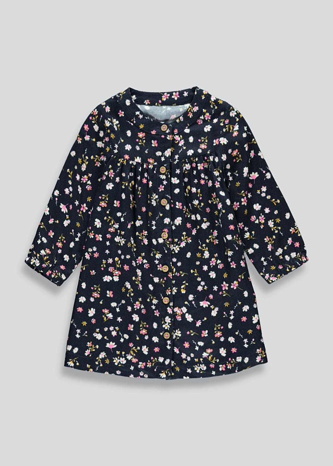 Girls Floral Twill Dress (9mths-6yrs)