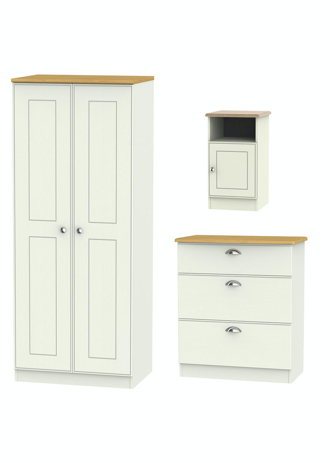 Swift Stamford 3 Piece Bedroom Furniture Collection