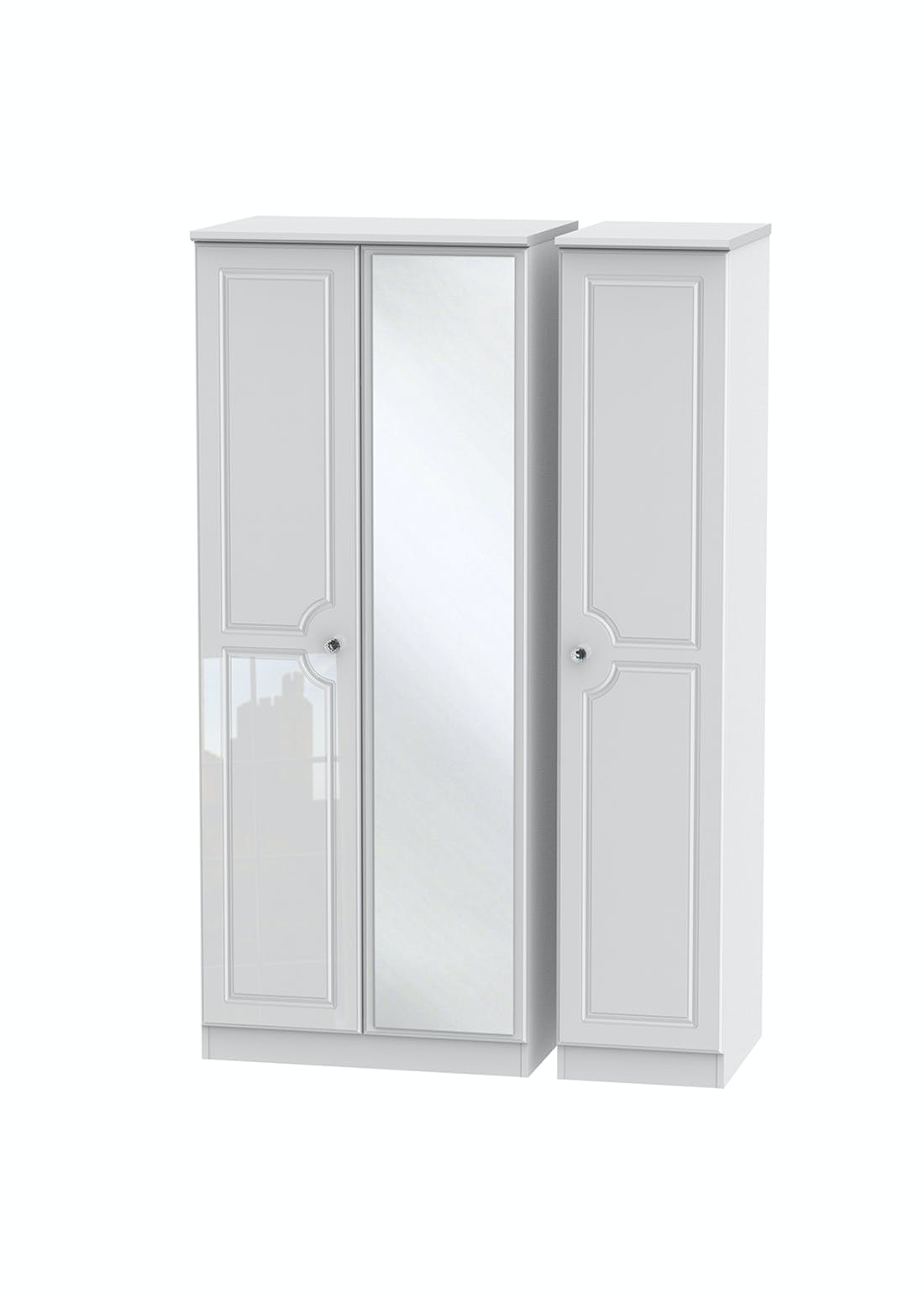 Swift Marlborough Triple Wardrobe (182.5cm x 111cm x 53cm)