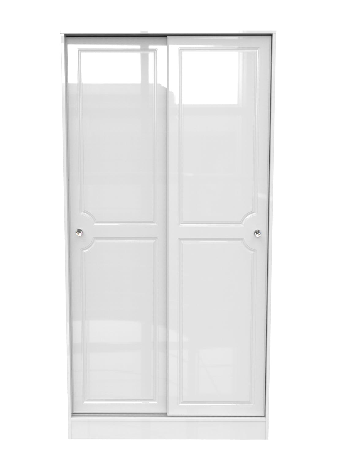 Swift Marlborough Sliding Door Wardrobe (197.5cm x 100.5cm x 60cm)