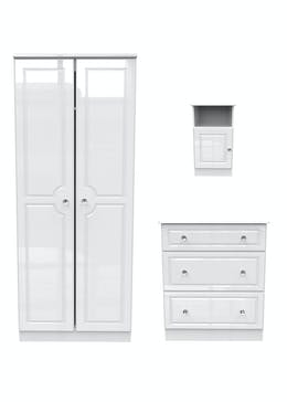 Swift Marlborough 3 Piece Bedroom Furniture Collection