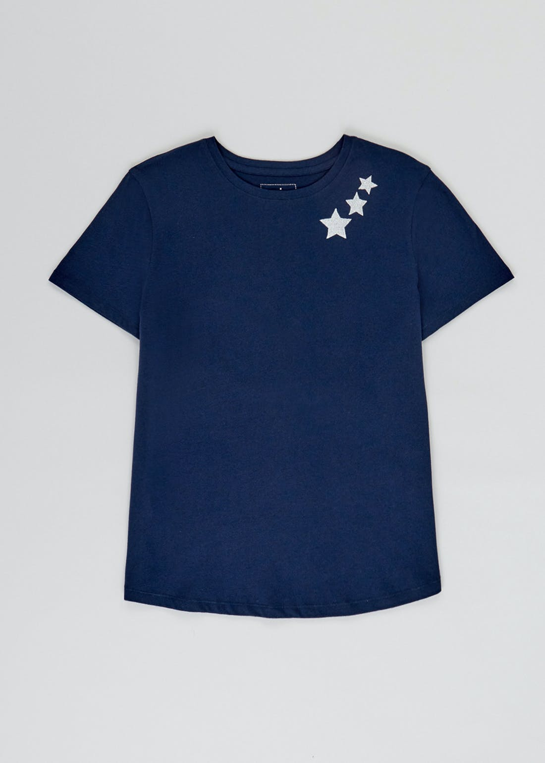 Mix & Match Embroidered Star Pyjama Top