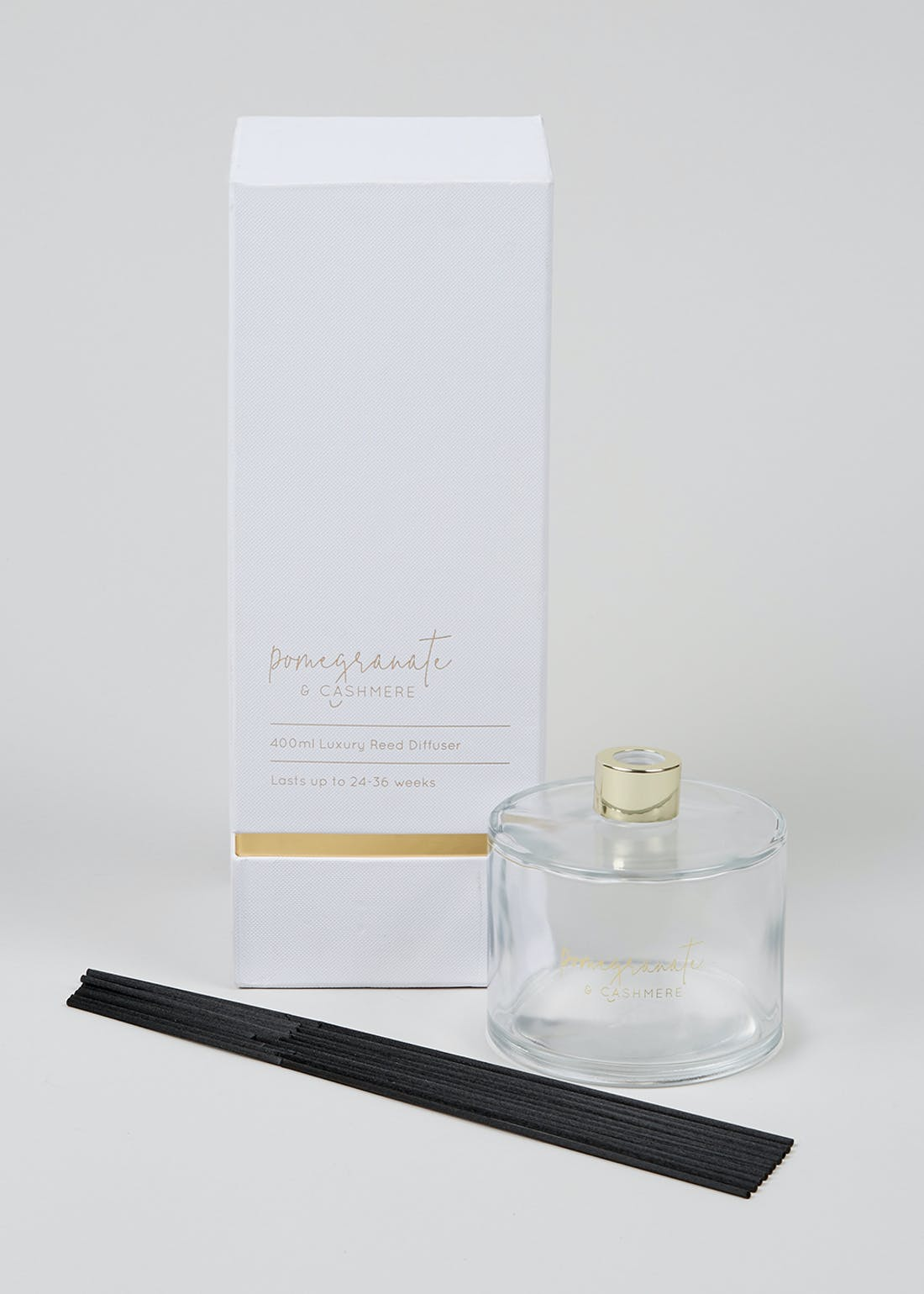 Pomegranate & Cashmere Luxury Reed Diffuser (400ml)