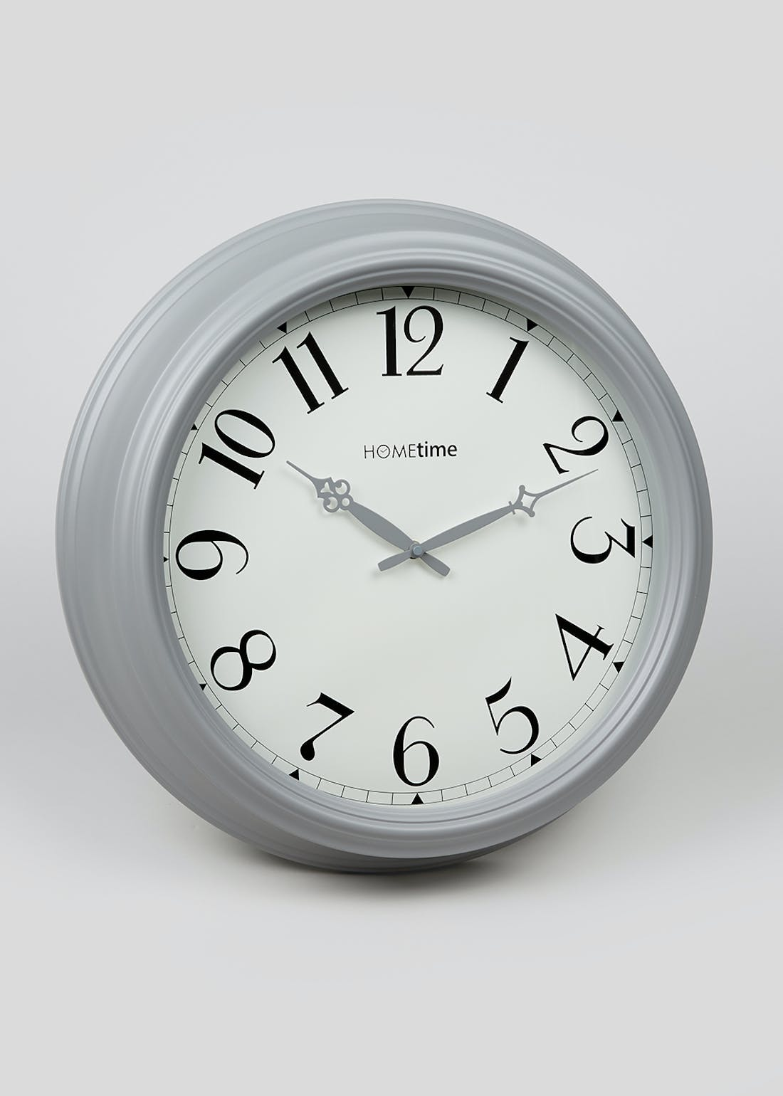 Deep Metal Clock (51cm x 11cm)