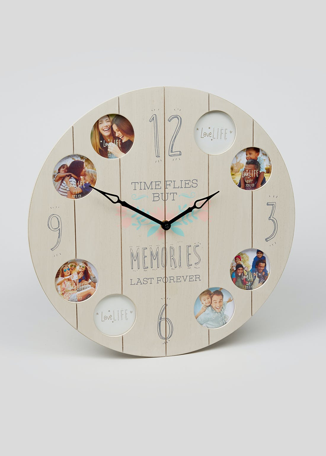 Memories Photo Clock (40cm x 3.5cm)