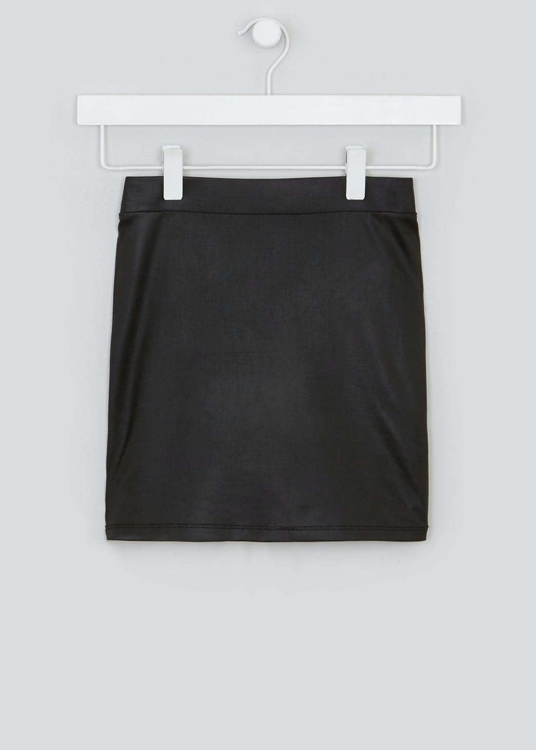 Girls Candy Couture Faux Leather Skirt (9-16yrs)