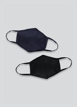 2 Pack Reusable Face Masks