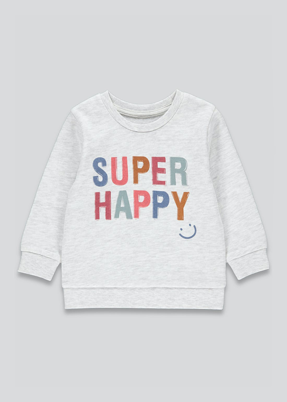 Boys Long Sleeve Super Happy T-Shirt (9mths-6yrs)