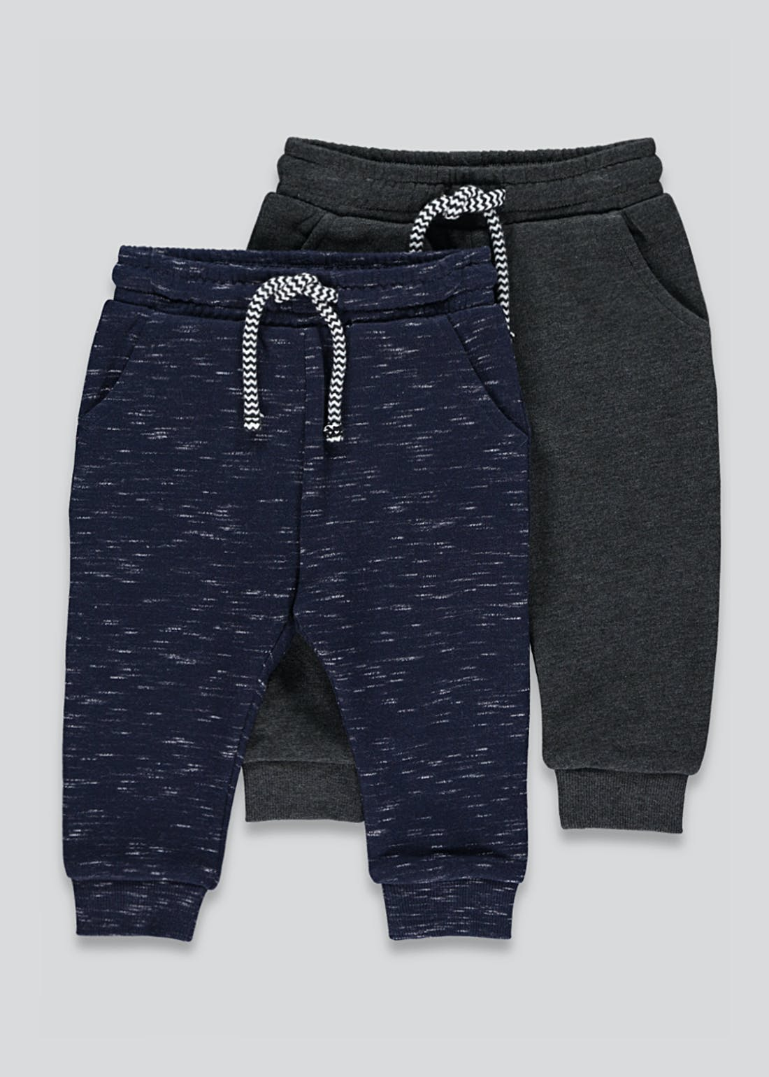 Boys 2 Pack Joggers (9mths-6yrs)