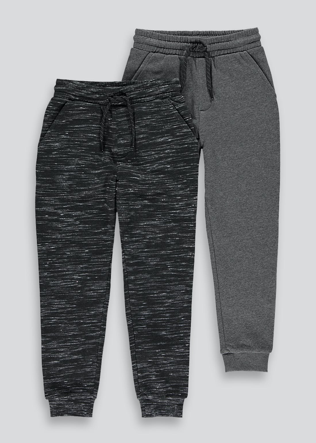 Boys 2 Pack Joggers (4-13yrs)