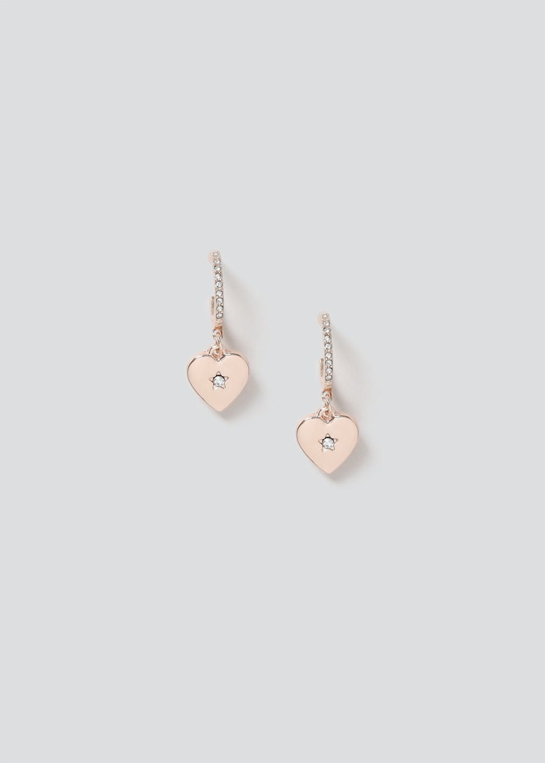 Puff Heart Earrings.