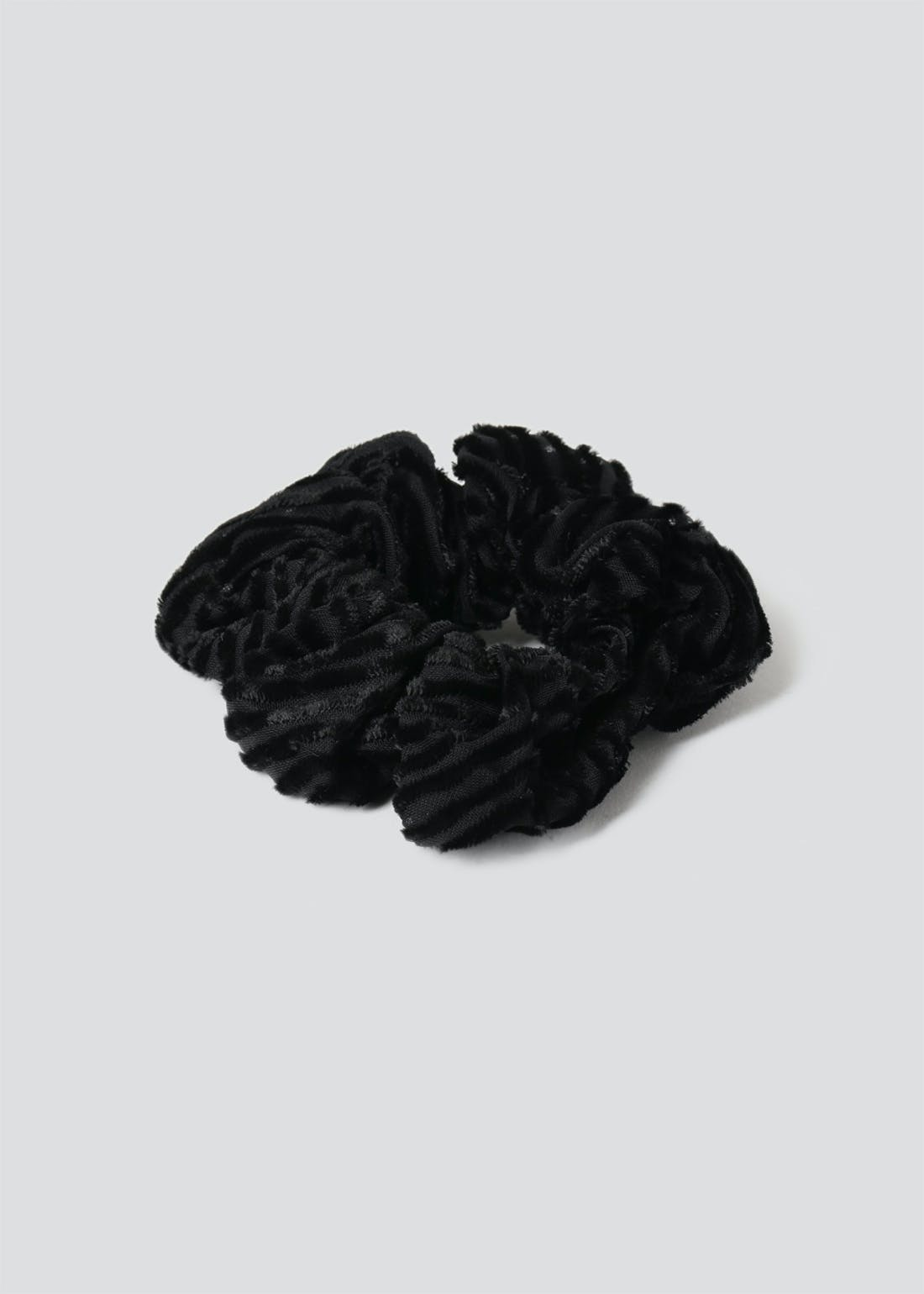 Textured Scrunchie.