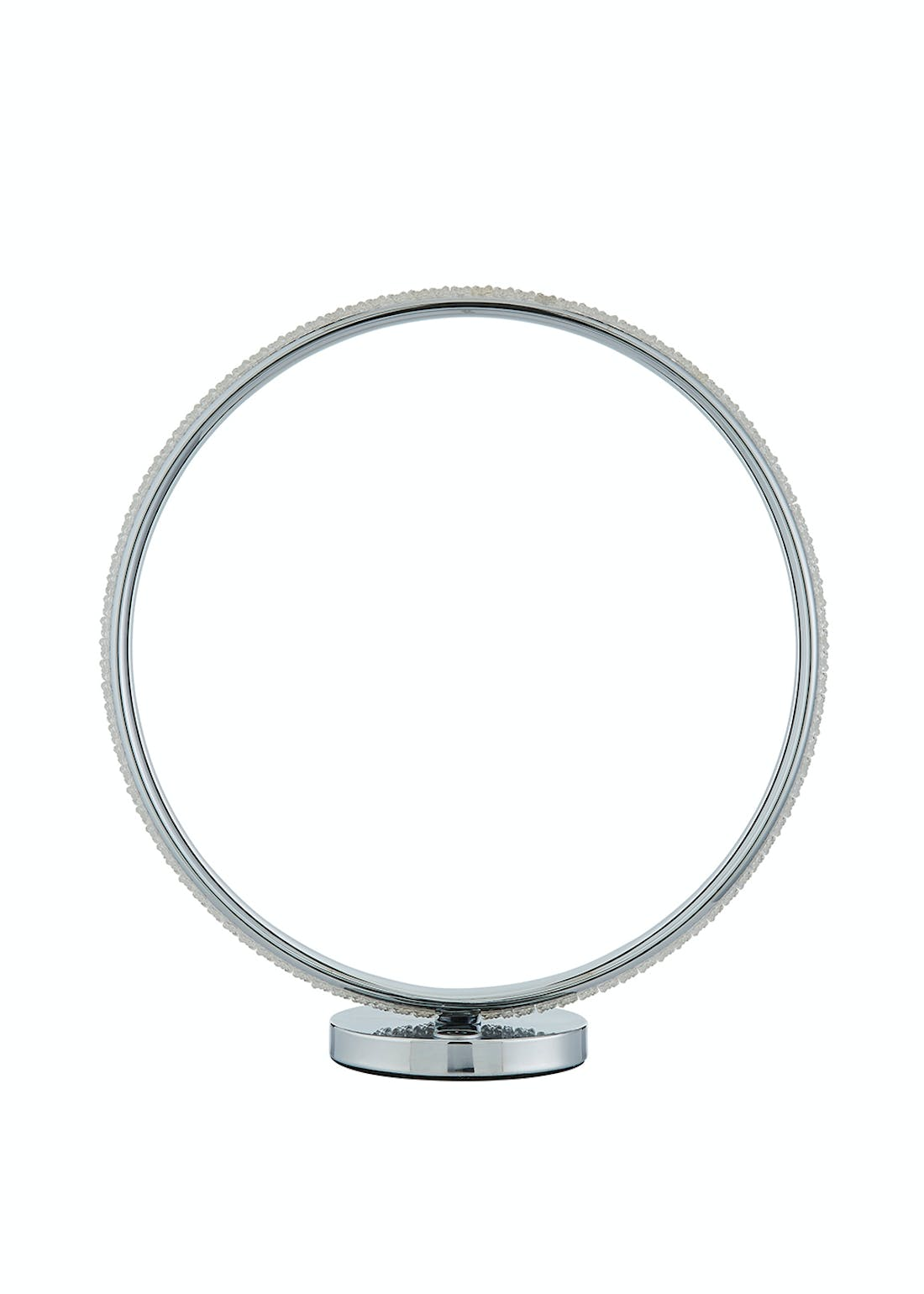 LED Ring Table Lamp (H36.5cm x W35cm x D13cm)