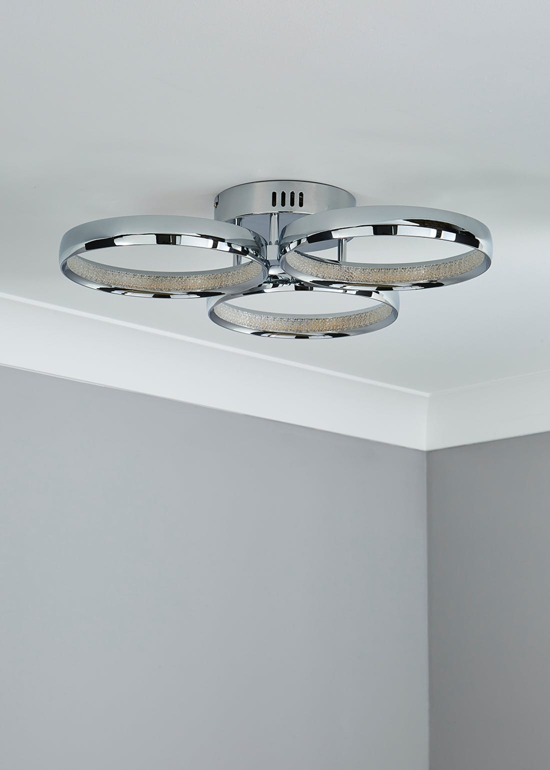 LED Ring Flush Ceiling Light (H11cm x W56cm)