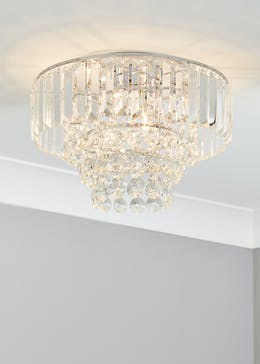 Acrylic Easy Fit Chandelier (H25cm x W35cm)