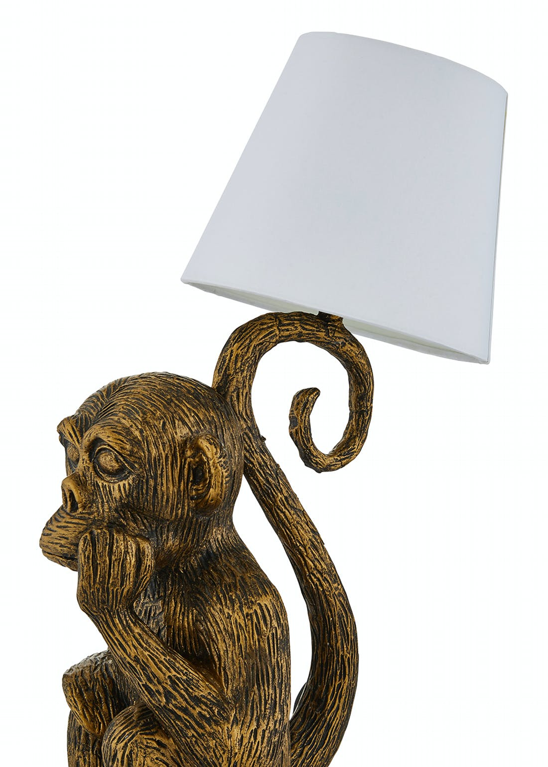 Monkey Table Lamp (H43cm x W33cm x D19cm)