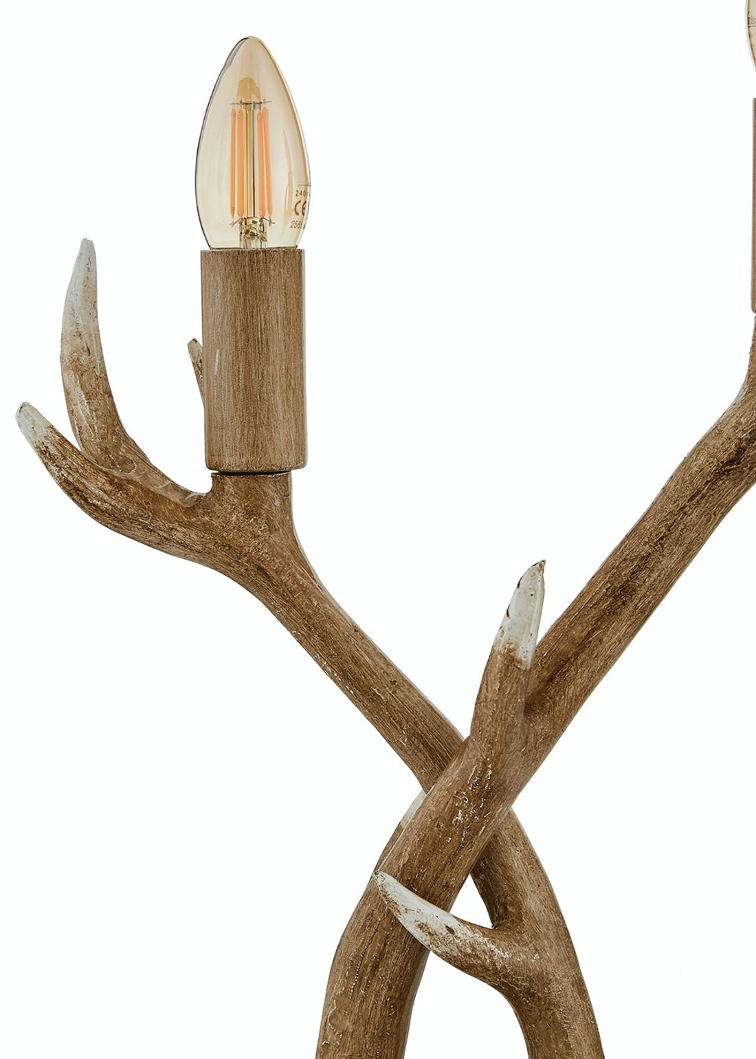 Antler Table Lamp (H39cm x W26cm x D13.5cm)