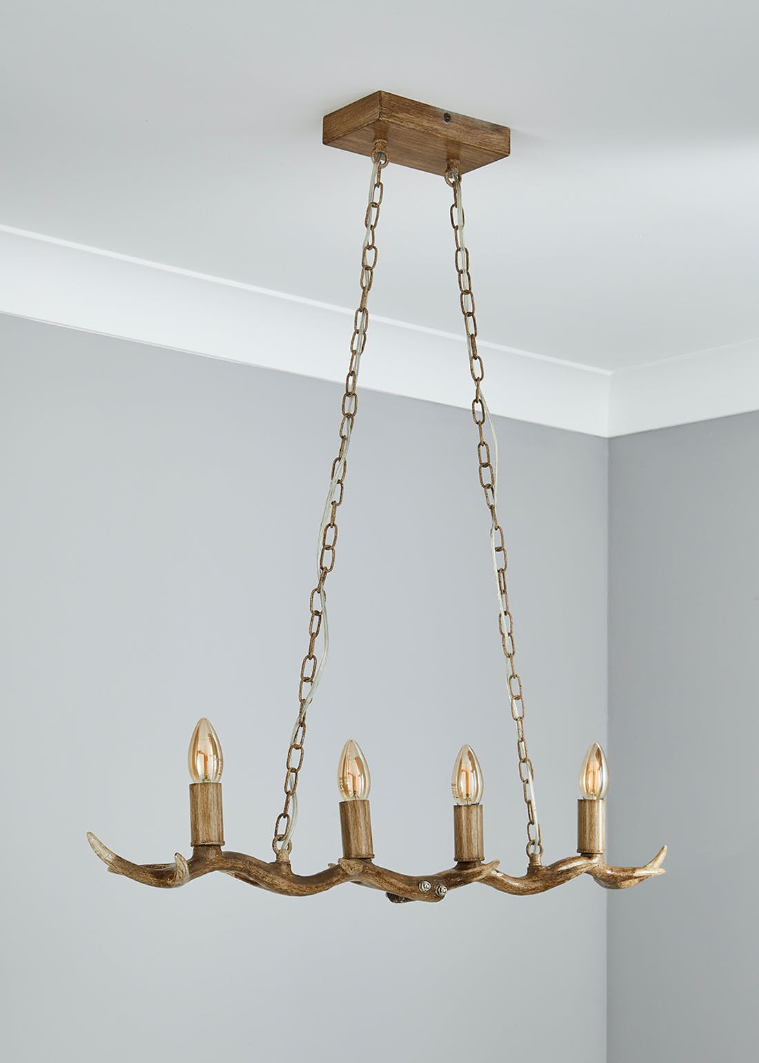 Antler Hanging Bar Light (H80cm x W85cm x D12cm)