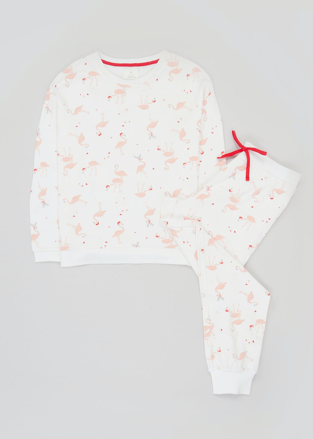 Flamingo Print Soft Touch Pyjamas