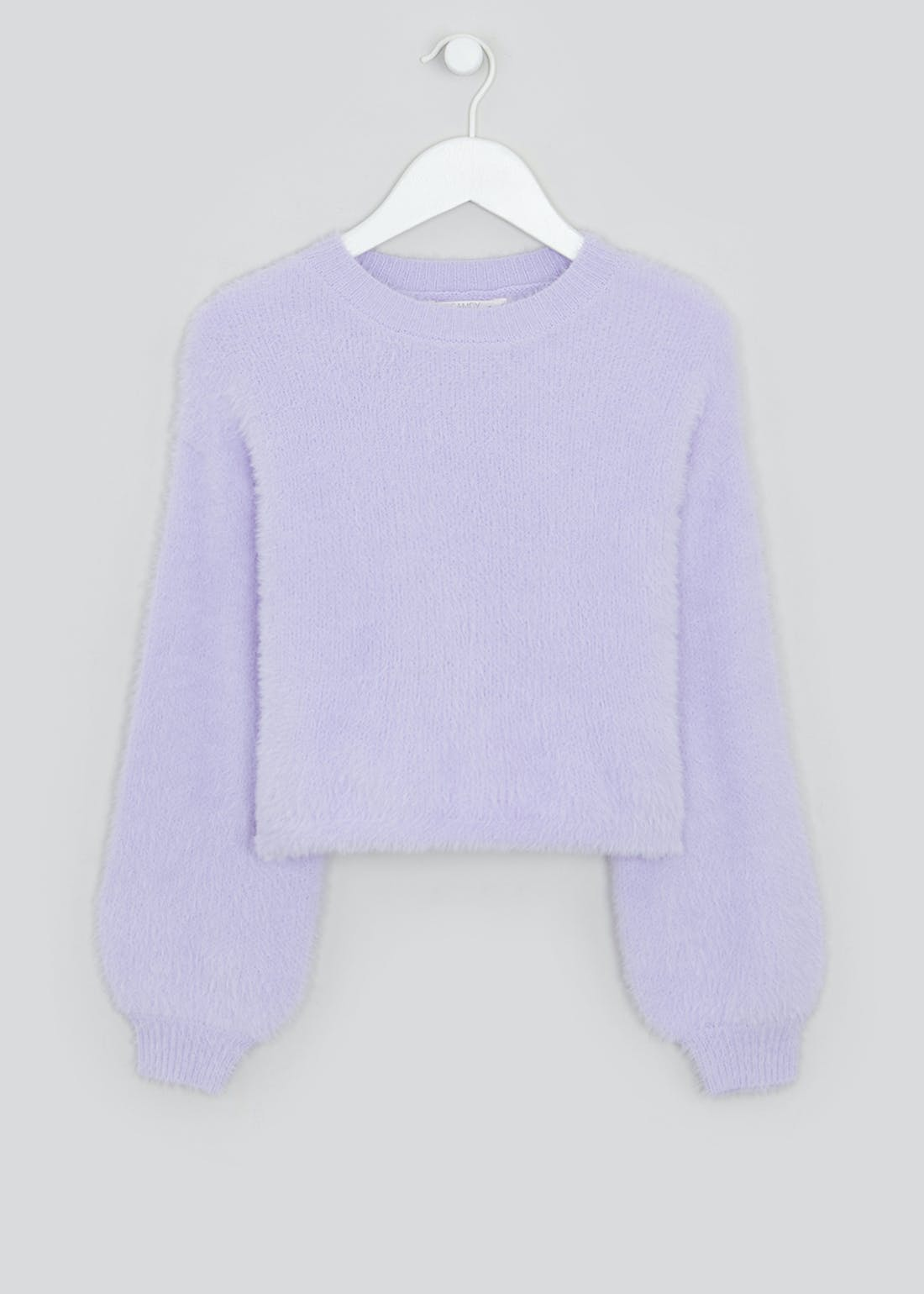 Girls Candy Couture Fluffy Eyelash Knit Jumper (9-16yrs)
